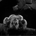 Frollo-vision of Esmeralda being tortured Maureen O'hara 1939 Hunchback of Notre dame  picture image