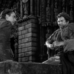 pillory cut 5 - Gringoire and Clopin Edmond O'brein Thomas Mitchell 1939 Hunchback of Notre dame  picture image