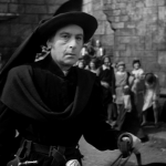 Pillory 10 - Frollo on the scene Sir Cedric hardwicke 1939 Hunchback of Notre dame  picture image