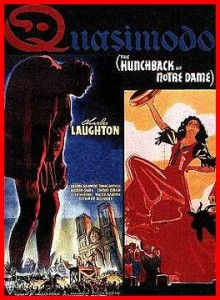 Movie poster for 1939 Hunchback of Notre Dame picture image