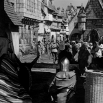 15th century Parisian Street 1939 Hunchback of Notre Dame picture image
