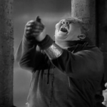 Quasimodo Cheers Charles Laughton Hunchback of Notre Dame 1939 picture image
