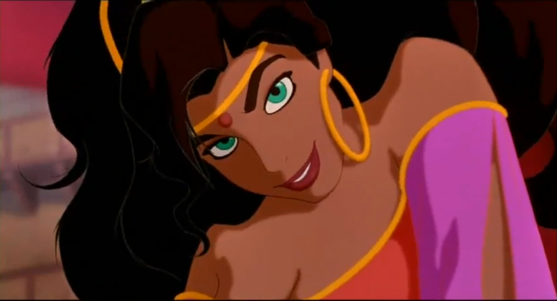 How Does Esmeralda Have Green Eyes The Hunchblog Of Notre Dame