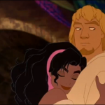 Esmeralda and Phoebus Disney Hunchback of Notre Dame