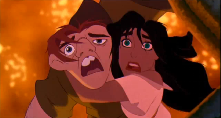 Esmeralda And Quasimodo Esmeralda and Quasimodo Disney