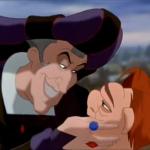 Frollo and Quasimodo Hunchback of Notre Dame picture image