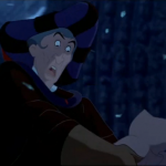 Frollo Hunchback of Notre Dame seeing Quasimodo for the 1st time  picture imageDisney