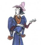 Concept Art for Frollo disney Hunchabck of notre dame picture image