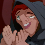 Quasimodo clapping Disney Hunchback of Notre Dame