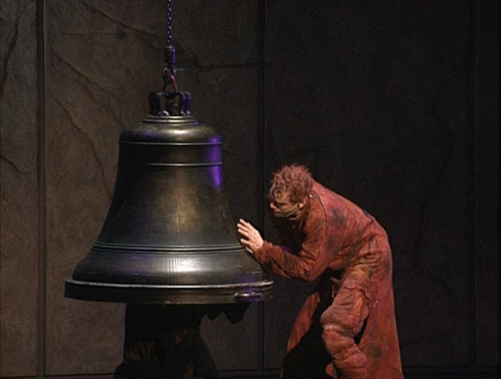Quasimodo with a Bell Les Cloches Notre Dame de Paris picture image