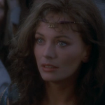 Lesley-Anne Down as Esmeralda, 1982 Hunchback of Notre Dame picture image