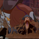 Achilles Sitting Disney Hunchback of Notre Dame picture image