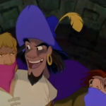 Clopin, Phoebus,and Quasimodo Disney Hunchback of Notre Dame picture image