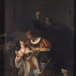 Auguste Couder's Painting of Frollo stabbing Phoebus