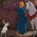 Djali and Achilles Same look Disney Hunchback of Notre Dame picture image