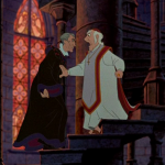 Archdeacon and Frollo Disney Hunchback of Notre Dame picture image