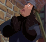 In Between Frame of the Oafish guard Hunchback of Notre Dame Disneye picture image