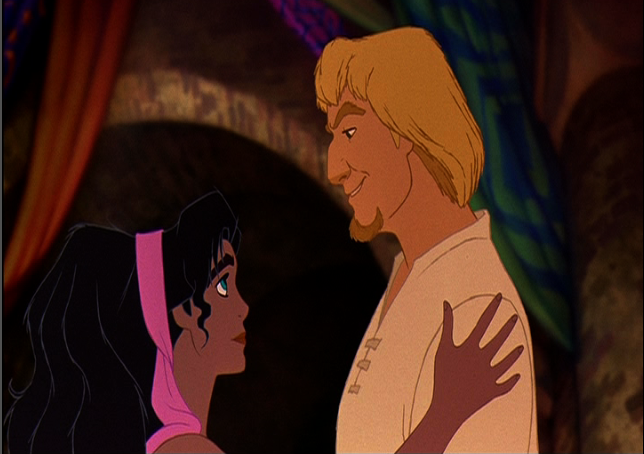 Esmeralda and Phoebus Disney Hunchback of notre dame image picture