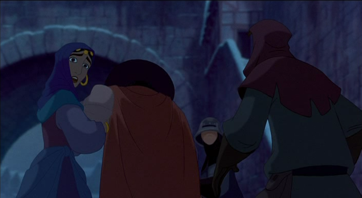 Deeper look at the Disney's Hunchback of Notre Dame