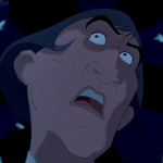 Frollo in fear for his soul Bells Disney Hunchback of Notre Dame picture image