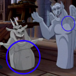 Stains on Gargoyles Disney Hunchback of Notre Dame picture image