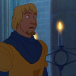In Between Frame of Phoebus Hunchback of Notre Dame Disney picture image