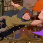 Quasimodo Topsy Turvy Disney Hunchback of Notre Dame picture image