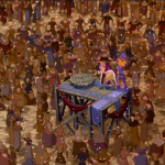 Topsy Turvy CG Crowd Disney Hunchback of Notre Dame picture image