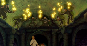Court of Miracles Disney Hunchback of Notre Dame picture image
