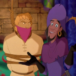 Clopin and Phoebus Court of Miracles Disney Hunchback of Notre Dame picture image