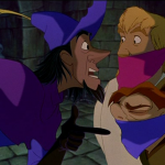 Clopin, Phoebus and Quasimodo Court of Miracles Disney Hunchback of Notre Dame picture image