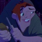 Quasimodo singing Heaven's Light Disney Hunchback of Notre Dame picture image
