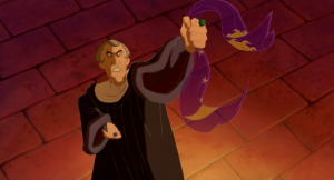 Frollo singing Hellfire Disney Hunchback of Notre Dame pitcure image