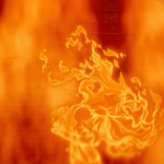 Esmeralda as a fire demon dancing Hellfire Disney Hunchback of Notre Damepicture image