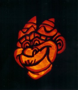 Laverne on a Pumpkin by Pumpkinman_01 from Disney Hunchback of Notre Dame picture image