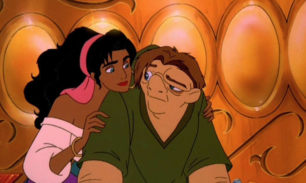 Esmeralda and Quasimodo Sequel Hunchback of Notre Dame II Disney    Quasimodo Disney Sad
