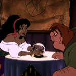 Esmeralda and Quasimodo Sequel Hunchback of Notre Dame II Disney picture image
