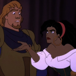 Esmeralda and Phoebus Sequel Hunchback of Notre Dame II Disney picture image