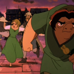 Quasimodo mad while Madeline gets arrested Sequel Hunchback of Notre Dame II Disney picture image
