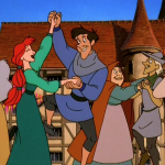 Extras Dance Le Jour D'Amour Disney Hunchback of of Notre Dame II 2 Sequel  picture image