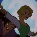 Madeline and Quasimodo Fa la la la Fallen In Love Hunchback of Notre Dame II Disney 2 Sequel