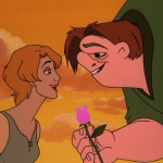 Madeline and Quasimodo in Love Hunchback of Notre Dame II Disney Sequel 2 picture image