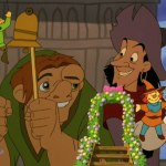 Clopin and Quasimodo with Puppets Le Jour D'Amour Disney Hunchback of of Notre Dame II 2 Sequel image puppet