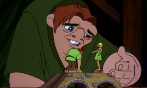 Quasimodo singing Ordinary Miracle Hunchback of Notre Dame sequel 2 II picture image