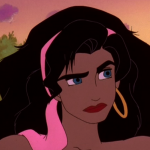 Esmeralda is not happy Hunchback of Notre Dame Sequel 2 II Disney  picture image