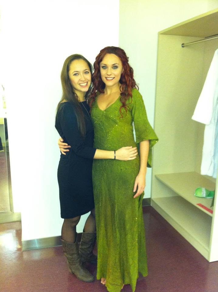 Myriam Brousseau as Esmeralda with Candice Parise picture image