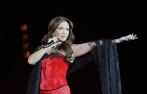 Helene Segara performing Bohemienne at Bercy Concert picture image