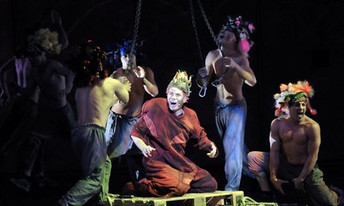 Matt Laurent as Quasimodo performing The Feast of Fools Asian Tour Cast Notre Dame de Paris picture image
