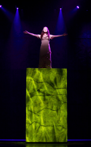 Candice Parise as Esmeralda during Live for the One I Love Notre Dame de Paris 2011-2012 Asian Tour   picture image
