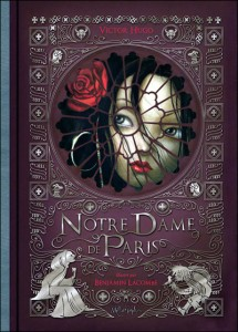 Benjamin Lacombe' s Cover of Notre Dame de Paris picture image